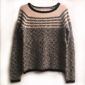 Lou & Grey cream & black sweater